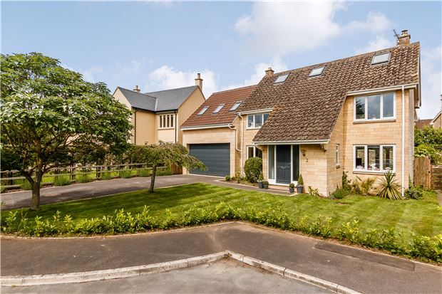 Thumbnail Detached house for sale in Upper Farm Close, Norton St Philip, Bath