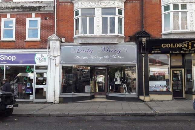 Thumbnail Retail premises to let in 81 Southbourne Grove, Southbourne, Bournemouth