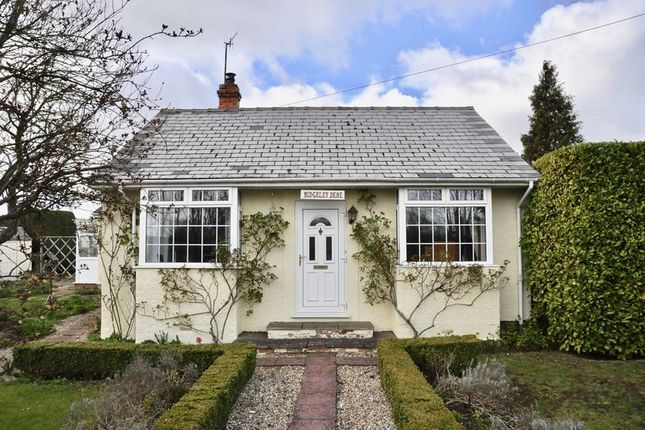 Thumbnail Detached bungalow for sale in Birmingham Road, Blackminster, Evesham