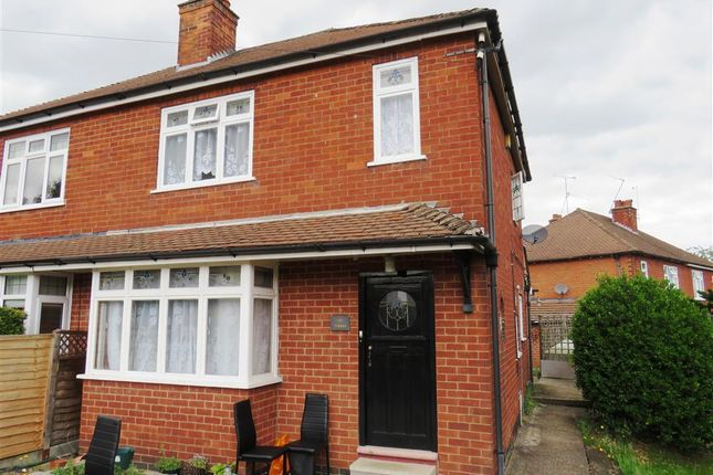 Thumbnail Semi-detached house to rent in Elms Avenue, Littleover, Derby