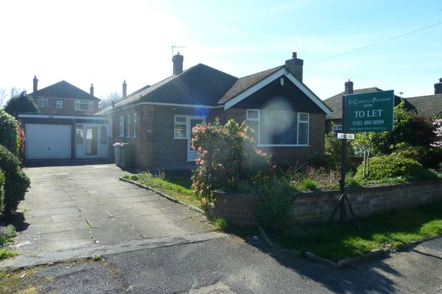 Thumbnail Detached bungalow to rent in Stanneylands Drive, Wilmslow