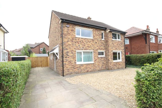 Thumbnail Detached house for sale in Manor Avenue, Penwortham, Preston