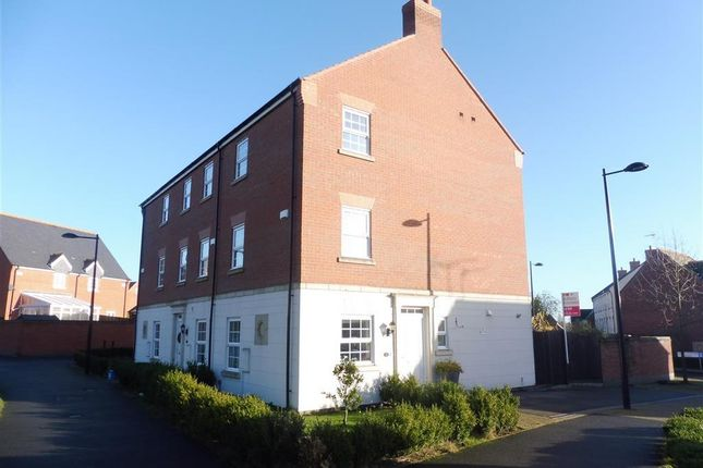 Thumbnail Terraced house to rent in Brook Furlong Drive, Birstall, Leicester