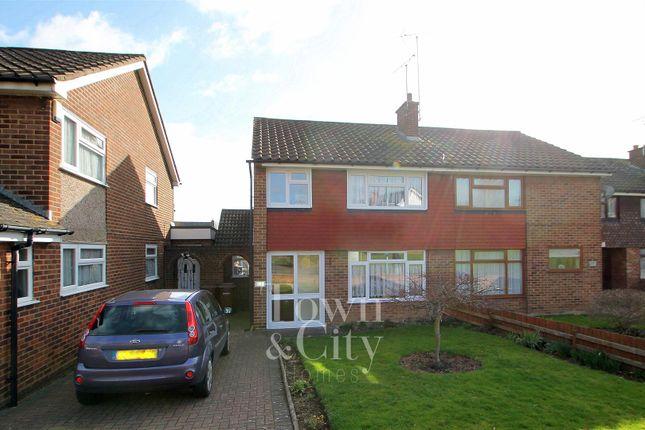 Thumbnail Semi-detached house for sale in Beechings Way, Rainham, Gillingham
