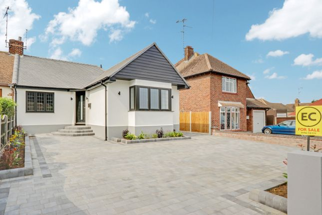 Thumbnail Semi-detached bungalow for sale in Linksway, Leigh-On-Sea