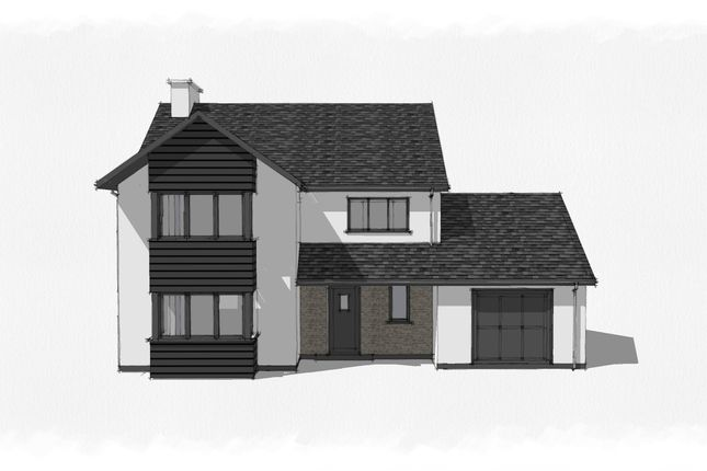 Thumbnail Detached house for sale in Cefn Ceiro, Llandre, Aberystwyth