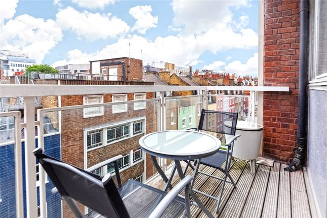 Balcony of Browning Court, 37 James Street, London W1U