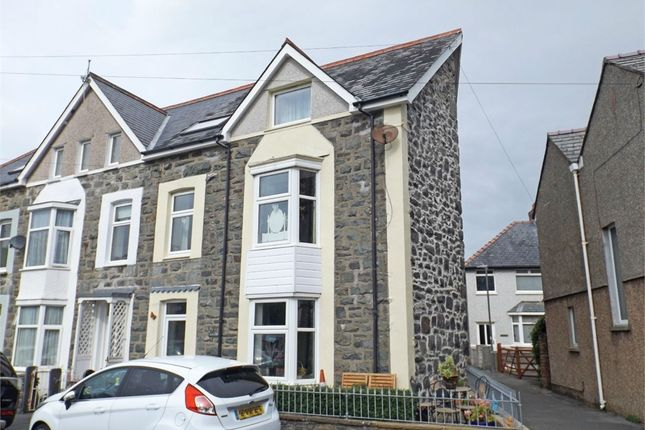 Thumbnail End terrace house for sale in Northfield Road, Barmouth, Gwynedd