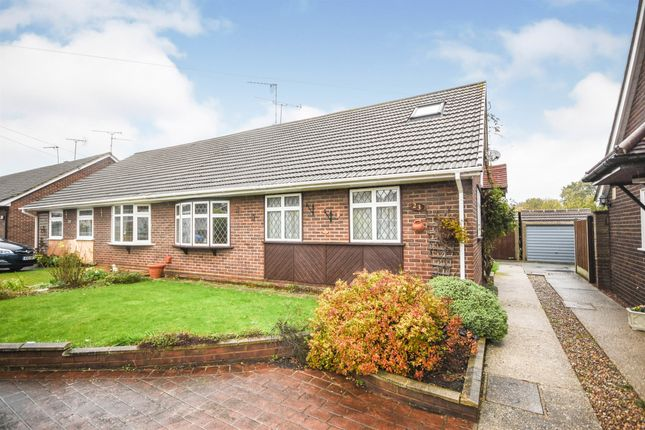 Thumbnail Semi-detached bungalow for sale in Arnolds Close, Hutton, Brentwood