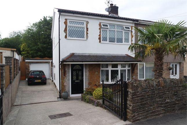 Thumbnail Semi-detached house for sale in Yr-Ysfa, Maesteg, Mid Glamorgan
