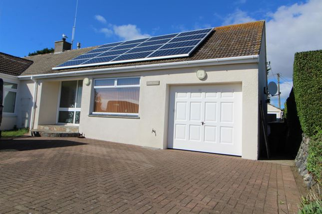 Thumbnail Semi-detached bungalow to rent in Polurrian Road, Mullion, Helston