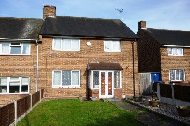 Thumbnail Terraced house to rent in Plants Grove, Erdington, Birmingham