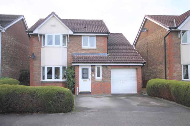 Thumbnail Detached house for sale in Harebell Close, Northallerton