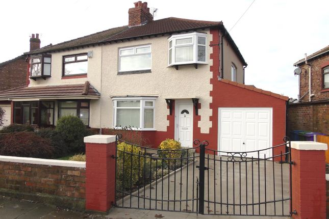 Thumbnail Semi-detached house for sale in East Orchard Lane, Fazakerley, Liverpool