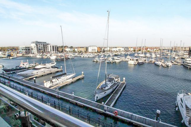 Thumbnail Flat for sale in Hamilton Quay, Eastbourne