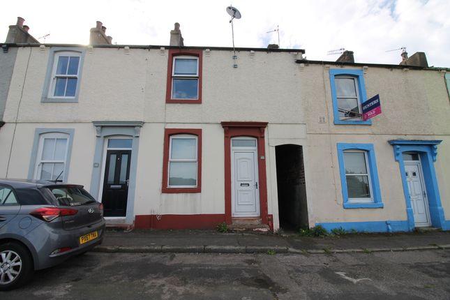 Thumbnail Terraced house for sale in Buchanan Terrace, Ellenborough, Maryport