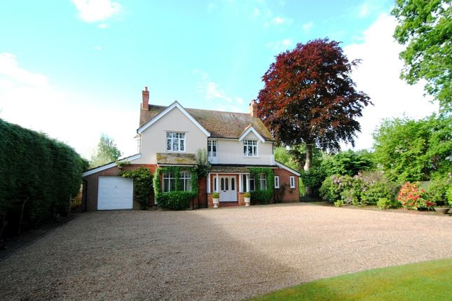 Thumbnail Detached House For Sale In Chandlers Lane Yateley