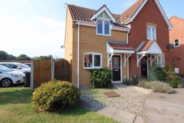 Thumbnail Semi-detached house to rent in Howley Gardens, Lowestoft