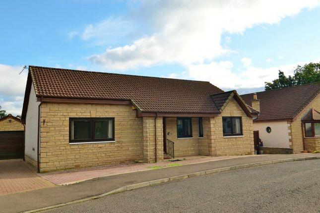 Thumbnail Detached bungalow for sale in 28 Glenorchil Crescent, Auchterarder