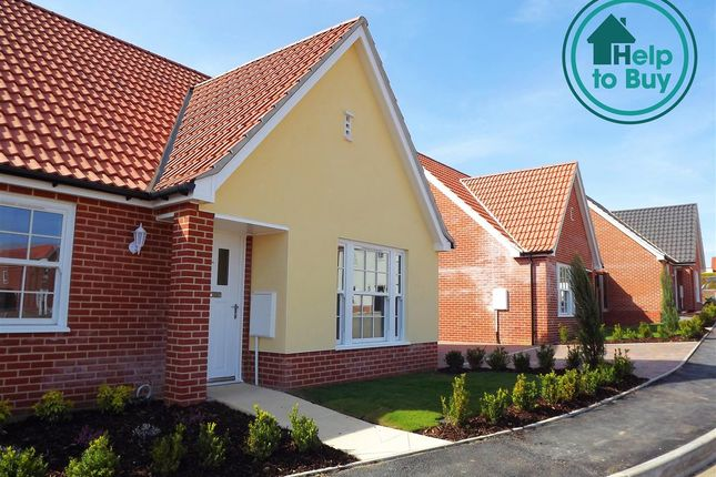 Thumbnail Bungalow for sale in Plot 1, The Felbrigg, Springfield Grange, Acle