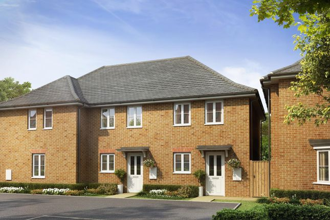 "Thumbnail 2 bedroom terraced house for sale in ""Ashford"" at Dorman Avenue North, Aylesham, Canterbury"