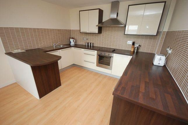 Thumbnail Flat for sale in Waterside Way, Wakefield