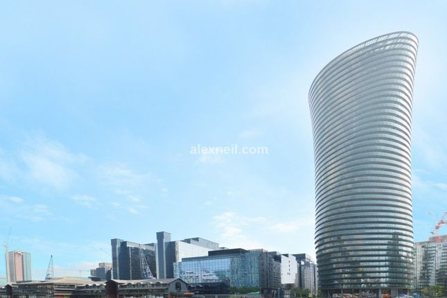 Thumbnail Flat to rent in Crossharbour Plaza Canary Wharf, London