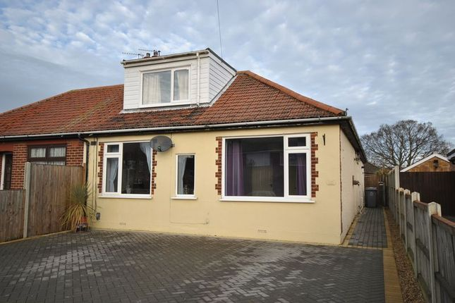 3 bed semi-detached bungalow for sale in Laundry Lane, Thorpe St. Andrew, Norwich