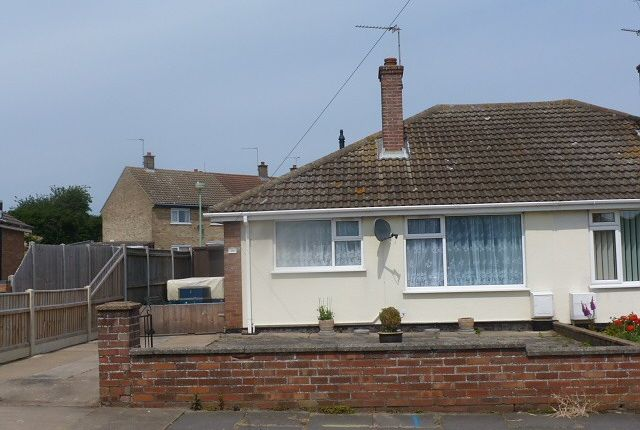 Thumbnail Bungalow to rent in June Avenue, Lowestoft