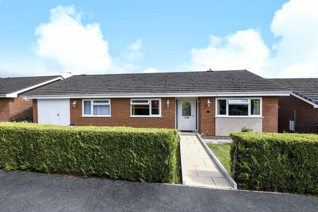 Thumbnail Detached bungalow for sale in Hill View, Builth Wells