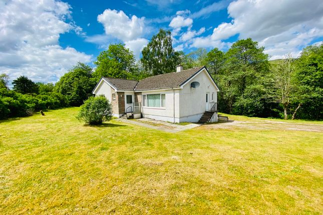 Thumbnail Detached bungalow for sale in Leven, Stronmilchan Road, Dalmally, Argyll