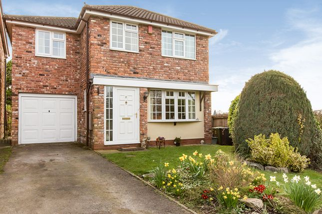 Thumbnail Detached house for sale in Pheasant Drive, Wincham, Northwich, Cheshire
