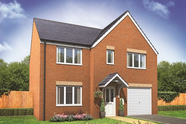 "Thumbnail Detached house for sale in ""The Winster"" at Bishops Hull Road, Bishops Hull, Taunton"
