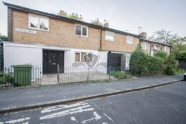 Thumbnail End terrace house to rent in Plaistow Grove, London