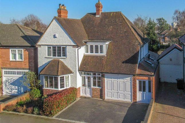 Thumbnail Detached house for sale in Crosbie Road, Harborne, Birmingham