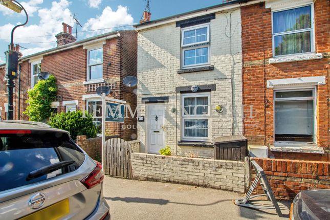 Thumbnail End terrace house to rent in Harsnett Road, Colchester