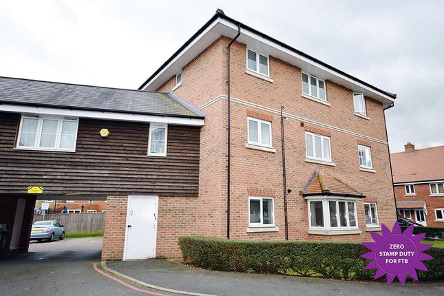 Thumbnail Flat for sale in Wharf Way, Hunton Bridge, Kings Langley, Hertfordshire
