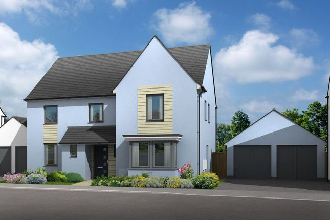 "Thumbnail Detached house for sale in ""Manning"" at Church Close, Ogmore-By-Sea, Bridgend"