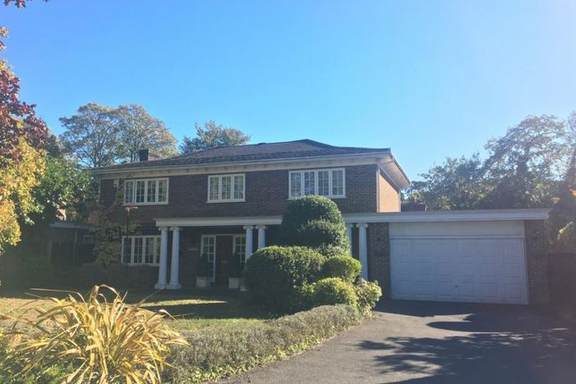 Thumbnail Detached house for sale in Dennistoun Close, Camberley