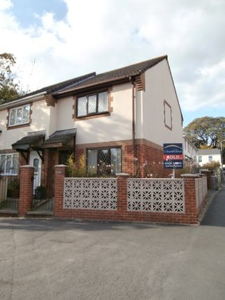 Thumbnail Semi-detached house to rent in Old Exeter Road, Newton Abbot