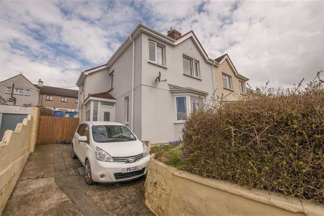 Thumbnail Semi-detached house for sale in Berries Avenue, Bude, Cornwall