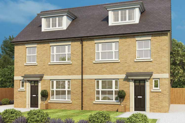 Thumbnail Semi-detached house for sale in Lancaster Mews, Water Lane, York, North Yorkshire