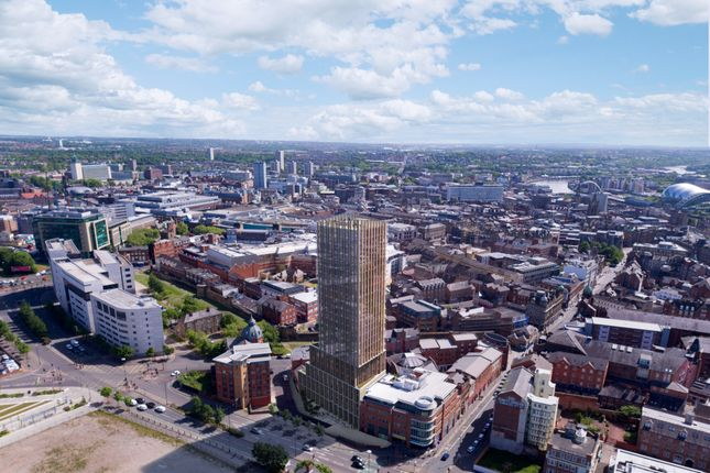 Thumbnail Flat to rent in 58 Hadrian's Tower, Rutherford Street, City Centre