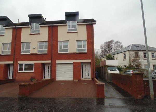 Thumbnail Town house to rent in Kings Road, Elderslie, Johnstone