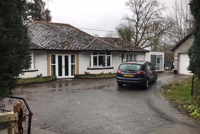 Thumbnail Detached bungalow for sale in Hay On Wye 8 Miles, Llyswen