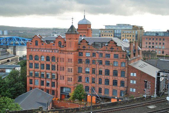 1 bed flat for sale in The Turnbull Building, Queens Lane, Newcastle Upon Tyne NE1