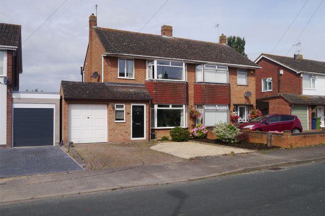 Thumbnail Semi-detached house for sale in Rosefield Crescent, Newtown, Tewkesbury