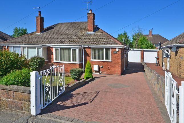 Thumbnail Semi-detached bungalow for sale in Bernard Grove, Meir Heath