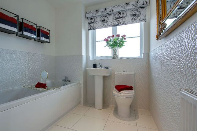 """Bathroom of """"The Esk"""" at Dunrobin Road, Airdrie ML6"""