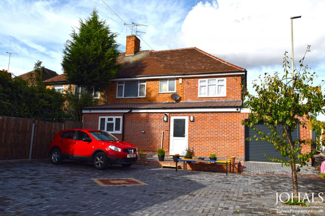 Thumbnail Semi-detached house for sale in Scraptoft Lane, Leicester, Leicestershire